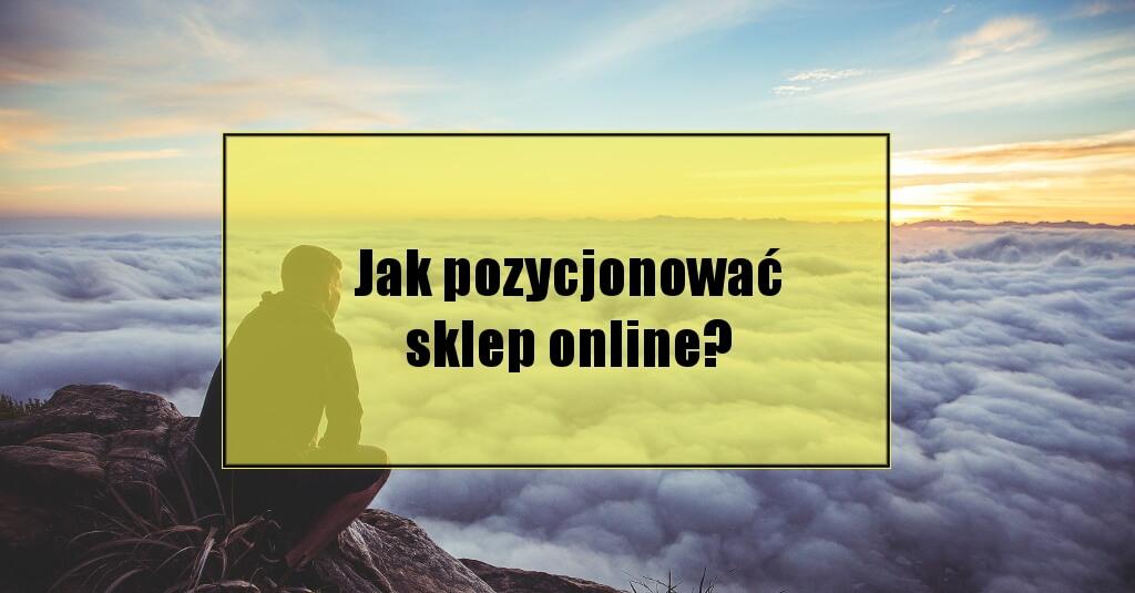 Jak wypozycjonować sklep online